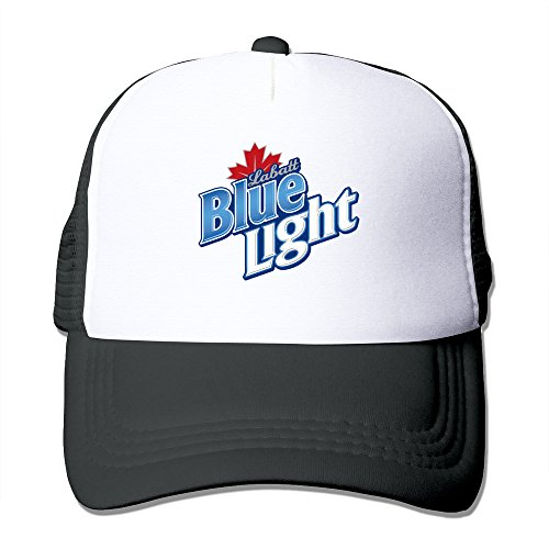 Cool Labatt Blue Trucker Mesh Baseball Cap Hat One Size Black (Vineyard Vines Men Hats)