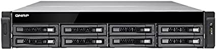 QNAP TS-EC880U R2 Ethernet Bastidor (2U) Negro, Gris NAS - Unidad Raid (HDD,SSD, Serial ATA II,Serial ATA III, 2.5/3.5