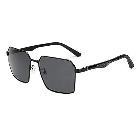 b6f17e26555 Z HA Men s Color Changing Polarized Sunglasses Driving Fishing Glasses  Smart Photochromic Lenses Polygonal Frame UV400 Protective