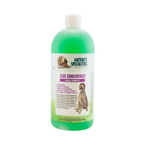 Nature's Specialties Aloe Concentrate Pet Shampoo, 32-Ounce