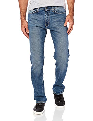 Levi's Men's 505 Regular Fit Jean, Afrobeat/Stretch, 34W x 32L (Levis Loose Boot)