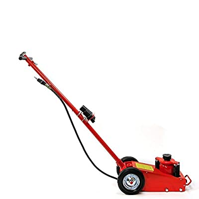 9TRADING 22 Ton Air Hydraulic Floor Jack/Hd Truck Power Lift Auto Truck Repair Jacks HD