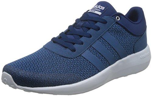 Bleu bleu Baskets Course Cloudfoam 001 Les Hommes Multicolore B74720 Adidas wygqvvK8F
