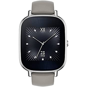 Amazon.com: ASUS ZenWatch 2 Smartwatch 1.45in Stainless ...