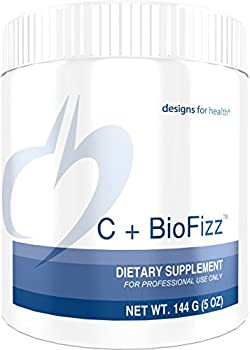 Designs for Health - C+BioFizz - 2569mg High Potency Vitamin C, Orange Powder + Quercetin + Hesperidin + Rutin, 144 Grams