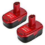 5.0Ah High Capacity Replace for Craftsman 19.2 Volt C3 Battery XCP 130279005 1323903 130211004 11045 315.115410 315.11485-2 Packs