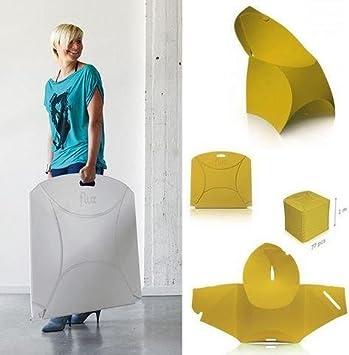 Ideapiu 4 sillas Flux, Silla Plegable, duraderas, sillas ...