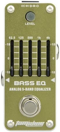 Tomsline AEB-3 Bass EQ, Analog 5-Band Equalizer Pedal