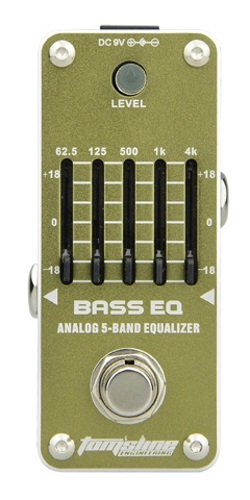 (Tomsline AEB-3 Bass EQ, Analog 5-Band Equalizer Pedal)
