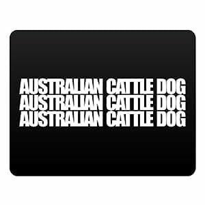 Eddany Australian Cattle Dog three words Plastic Acrylic