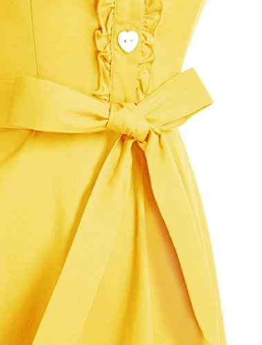Vestito Wedtrend Wedtrend Gelb Vestito Donna Donna Gelb wIITvqF