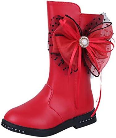 ブーツ プリンセスシューズ 弓 タッセル 女の子 Jopinica 秋 冬 シングルシューズ ドレスシューズ ガールズシューズ