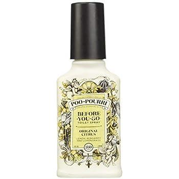 Poo-Pourri Before-You-Go Toilet Spray 4-Ounce Bottle, Original Citrus Scent