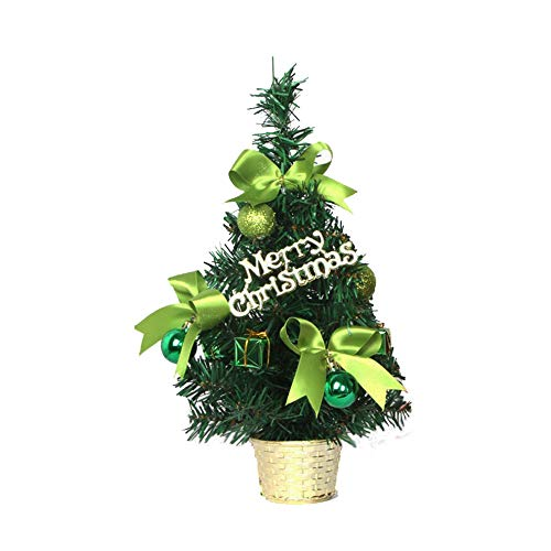 ASERTYL Mini Christmas Tree Ornament Desk Table Festival Xmas Party Decor Gifts -