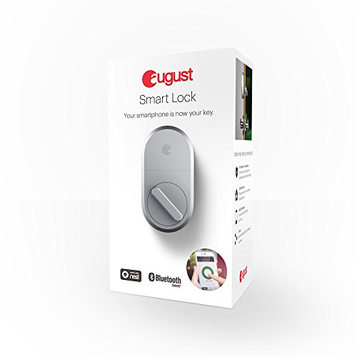 August Smart Lock, 3rd gen technology - Silver, Works with Alexa by August (Image #4)