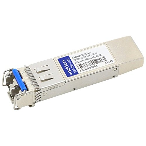 Image of Add-onputer Peripherals, L AFBR-701SDZ-AO Avago SFP Plus Transceiver Provides 10GBase-LR Network Transceivers