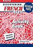 Discovering French Deuxieme Partie, Euro Edition 9780618047079