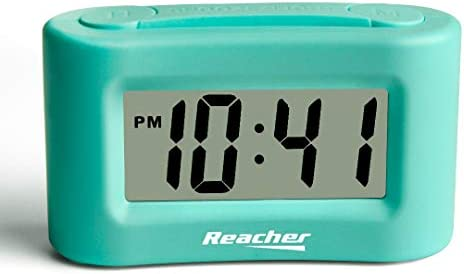 Reacher Battery Operated Alarm Clock product image