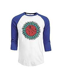 Men's Blind Melon Sun Logo 3/4 Sleeve Raglan T-Shirt