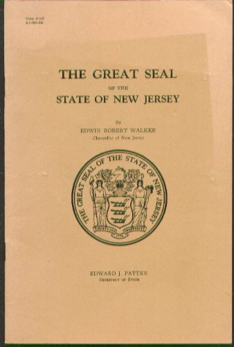 Great Seal State of New Jersey monograph 1928 (1928 Seal)