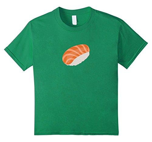 Sushi Costume For Kids (Kids Halloween Group Costume Sushi Tuna Men Women Youth 10 Kelly Green)