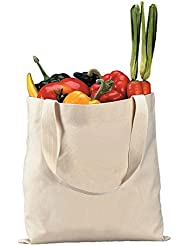 Heavy Canvas NATURAL Tote Bags Promotional Tote Bag 100
