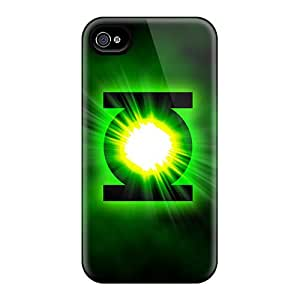 Shockproof Hard Phone Covers For Iphone 6plus (BvG8518AvMd) Customized HD Green Lantern Pattern
