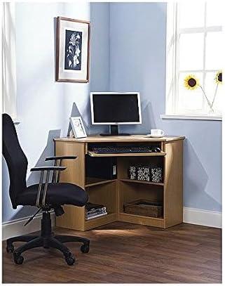 Amazon Com Oxford Corner Desk Multiple Colors Kitchen Dining