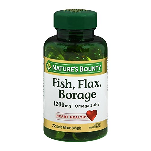 Natures Bounty Borage Omega Softgels