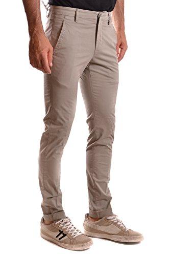 Dondup Homme MCBI100083O Beige Coton Pantalon