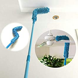 A deal® Microfiber Flexible Broom for Home Floor Cleaning (Multicolor)