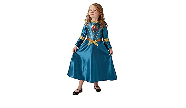 Amazon.com: Rubie´s Official Disney Princess Fairy Tale Merida Costume M Gold: Clothing