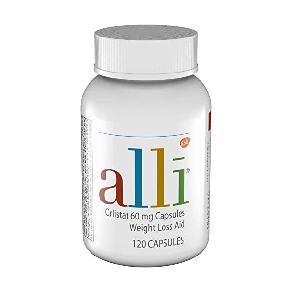 Health Shopping alli Weight Loss Diet Pills, Orlistat 60 mg Capsules, Non Prescription Weight Loss