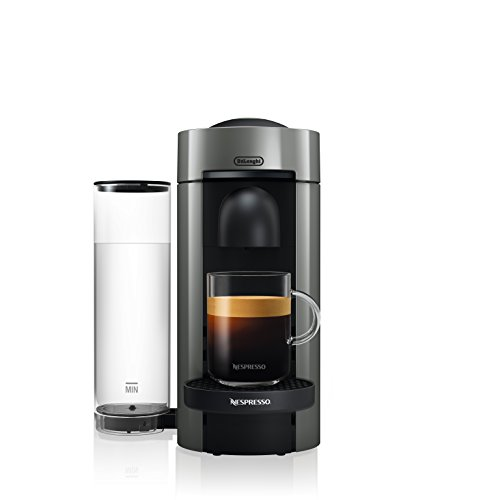 Nespresso by De'Longhi ENV150GY VertuoPlus Coffee and Espresso Machine, Graphite Metal