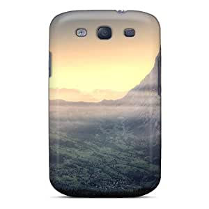 New Arrival Cover Case With Nice Design For Galaxy S3- A Gorgeous Mighty Mountain Valley