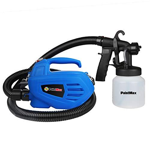 Moclever Paint Sprayer, 800ml/min New Upgrade HVLP Electric Paint Gun with 3 Spray Patterns, Easy Spraying and Cleaning for Power Paint Sprayer,Adjustable Valve Knob, Quick Refill Lid Detachable Cont