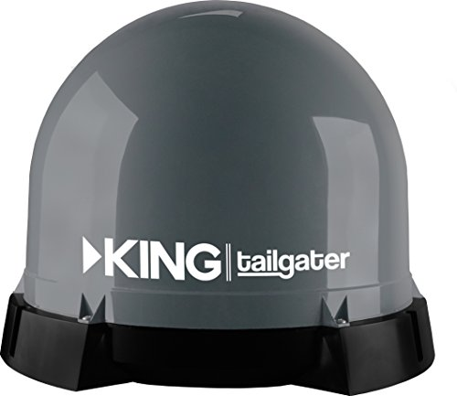KING VQ4550 Tailgater Bundle - Portable Satellite TV Antenna and DISH Wally HD Receiver by KING (Image #12)