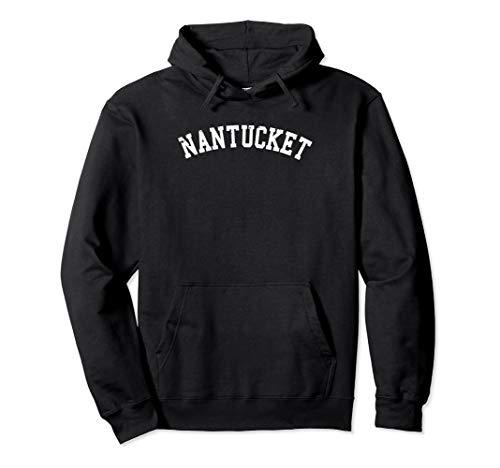 Distressed Nantucket Hooded Sweatshirt   Pullover Fleece