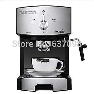 KOUDAG Macchina caffè Macchina per caffè a Vapore ad Alta Pressione Macchina per caff蠠Espresso per Uso Domestico in Acciaio Inossidabile 20bar Schiuma per caffè Fai-da-Te