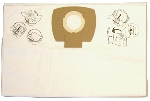 Makita P-78293 Dust Extracting Fleece Bag Nano Filter, 5-Pack ()