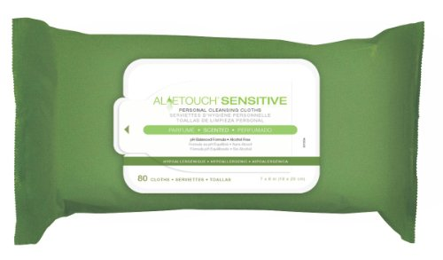 Medline Aloetouch Select Premium Spunlace Personal Cleansing Wipes by Medline (Image #1)