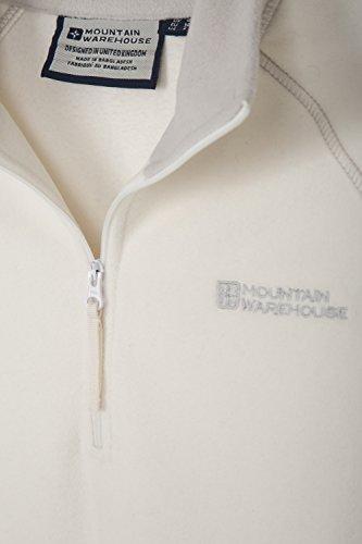 Mountain Warehouse Suéter de forro polar Montana para mujer Beige
