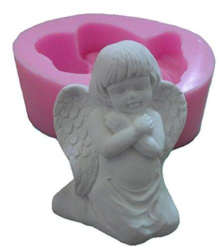 auch f/ür Kerzen geeignet Inception Pro Infinite Silikonform f/ür den handwerklichen Gebrauch eines Sissy Angel mit verschr/änkten Armen auf der Brust