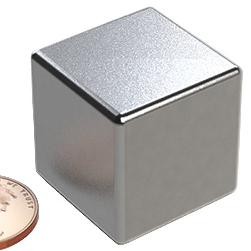Strong Rare-Earth Magnets (Silver) - 3