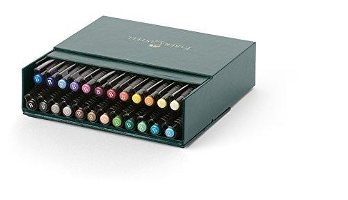 Faber-Castel Pitt Artist Brush Pens (24 Pack), Multicolor by Faber Castell