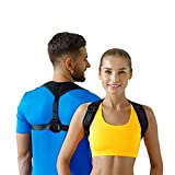 Figure 8 Posture Corrector | Invisible Shoulder Posture Strap for Men & Women | Effective Shoulder Corrector for Posture Brace | Discreet Clavicle Posture Support Rehab (Chest Size 25' - 50')
