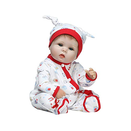 ShapeW Newborn Nursery 8 Piece Layette Baby Doll Gift Set, Featuring 16'' Life-Like Original Newborn Doll by ShapeW