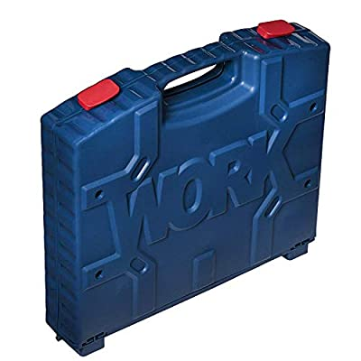 Playkidz Construction Workbench for Kids Portable Boys & Girls Toy Playset Includes Working Electric Power Drill, Travel Carry Case & 45+ Tools & Accessories to Build a Realistic Workbench Ages 3+: Toys & Games