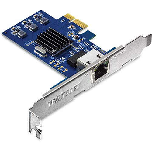 TRENDnet 2.5Gase-T PCIe Network Adapter, Standard and Low-Profile Brackets Included, Windows, Server, Linux and Vmware Esxi 6.X, 5.X, TEG-25GECTX
