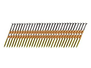 B&C Eagle 238X113R/22B Round Head 2-3/8-Inch x .113 x 22 Degree Bright Ring Shank Plastic Collated Framing Nails (5,000 per box) from B & C Eagle